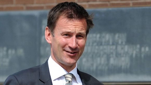 The Culture Secretary Jeremy Hunt has said an extra 1,200 troops are on Olympic standby.