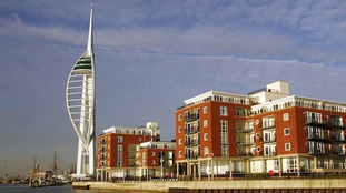 Firefighters discover smouldering drawer stuffed with cigarette ends Gunwharf Quays in Portsmouth