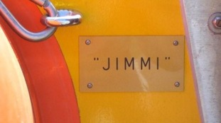 Emily hopes to raise money for a RNLI boat called Jimmi