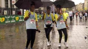 The London Marathon: the secret to surviving the weather