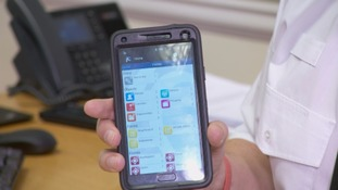 One of the new devices officers in Cumbria will be using