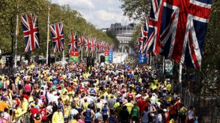 The London marathon, which takes place this weekend