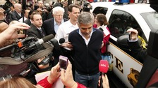 George Clooney arrested outside Sudan embassy