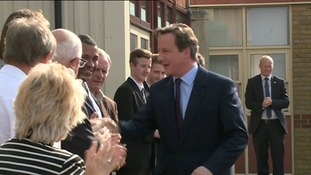 PM's pledge to the region on Tory campaign visit to the East