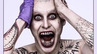 First look at Jared Leto as The Joker