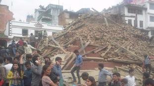 Powerful 7.9-magnitude earthquake hits Nepal
