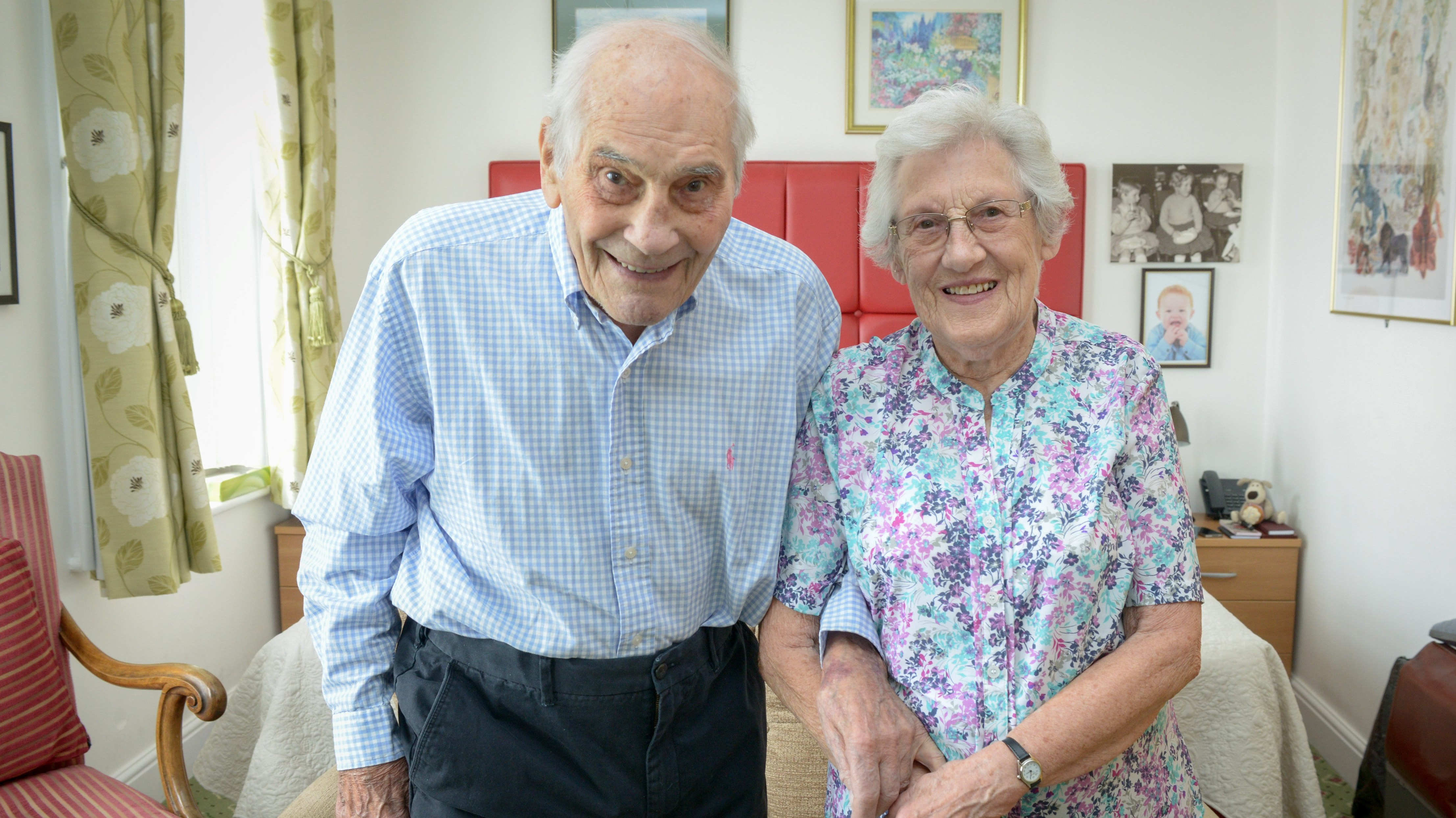 Couple, aged 102 and 91, to become world's oldest ever ...