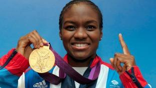 Olympic medallist Nicola Adams