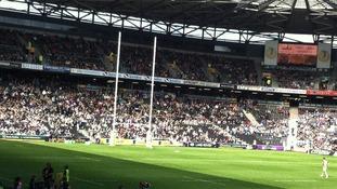 Stadium MK set for record gate