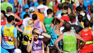 More than 36,000 people are expected to cross the finish line