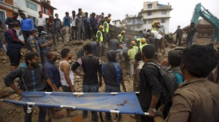 Rescue operations continue at Nepal earthquake zone