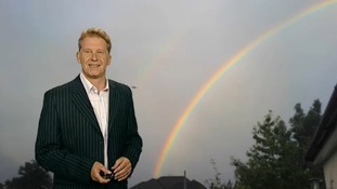 A summer rainbow? Here's Simon