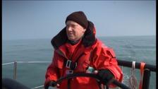 Skipper Darren Ladd says sailing the yacht is a team effort