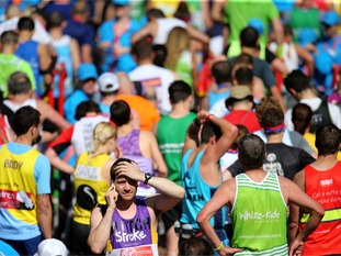 Has watching the London Marathon inspired you to take part?
