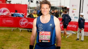 Ex-Olympian James Cracknell strikes a pose