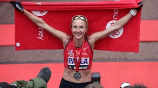 Radcliffe holds the fastest three marathon times for any woman in history