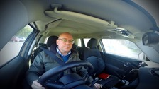 Adrian driving