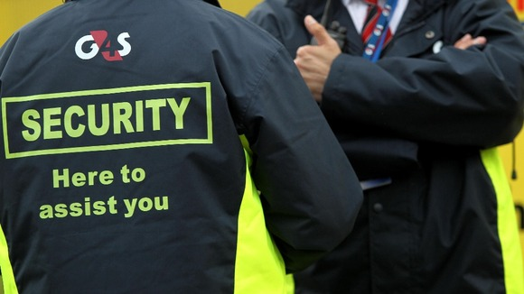 police forces drop g4s from outsourcing contract itv news Security Officer Manual G4S Security Job Openings