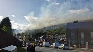 Burry Port fire