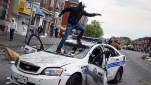 Baltimore state of emergency after custody death riots