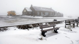 Parts of Britain hit by snowstorms amid Arctic blast.