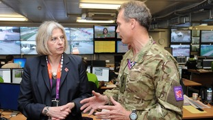 Home Secretary meets Colonel Gary Wilkinson