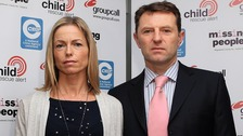 Kate and Gerry McCann.