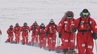 Trekking to the Magnetic North Pole