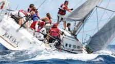 The Cheeki Rafiki being sailed before it hit trouble