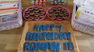 Cakes for Roman's birthday