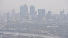 London basks in bad air pollution