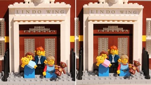First glimpse of the Lego royal baby