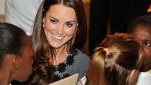 The Duchess on a recent visit to a gallery in London