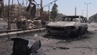The view in a suburb of Damascus that the Syrian army has managed to re-capture from rebels