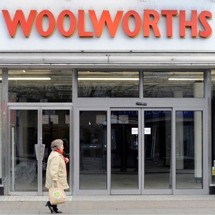 A closed branch of Woolworths in 2009