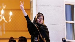 Nobel Prize laureate Malala