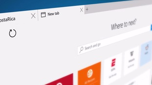 A first look at Microsoft's slimmed-down new browser