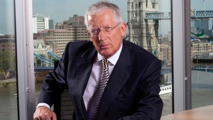 Nick Hewer, star of The Apprentice and Countdown, will appear on The Agenda on ITV tonight