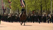 Two hundred Gurkhas march in London