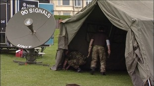 Army stand at airshow