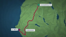 From St Bees to Cockermouth