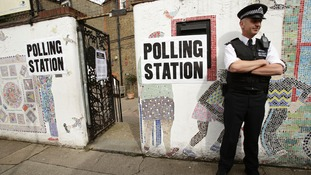Polling station in Tower Hamlets in last year's election