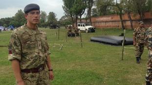 Corporal Bhesh Bahadur is originally from Pokhara