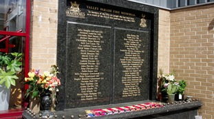 Bradford fire memorial