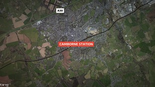 Girl hit by a train at Camborne Station