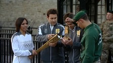 Olympic flame & Olympic torch
