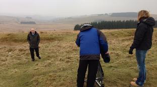 Adrian visits Sennybridge, a military training area in Powys