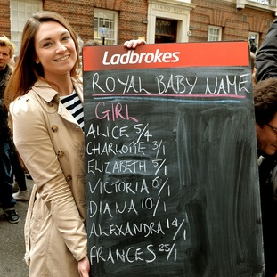 Top bet for royal baby name