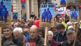 'Save the Alex' campaign called on the public to support a the rally.