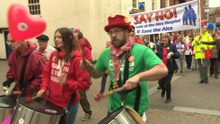 The campaign said the rally was apolitical with the community at its heart.